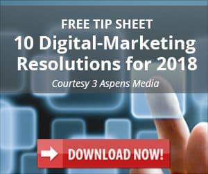 Free: 10 Digital Marketing Resolutions for 2018