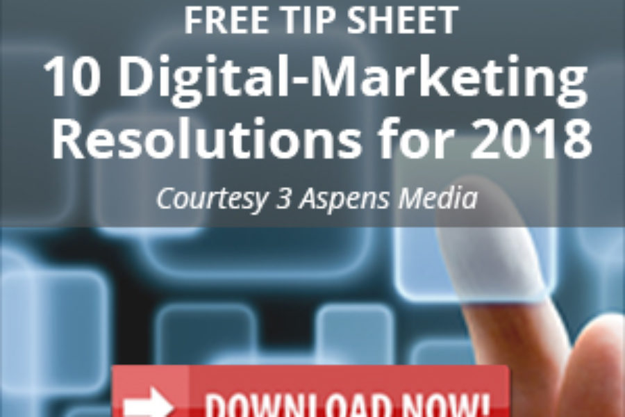 Free Download: 10 Digital Marketing Resolutions for 2018